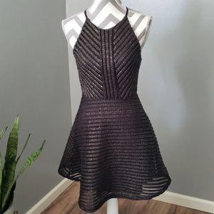 Sienna Sky Metallic Dress